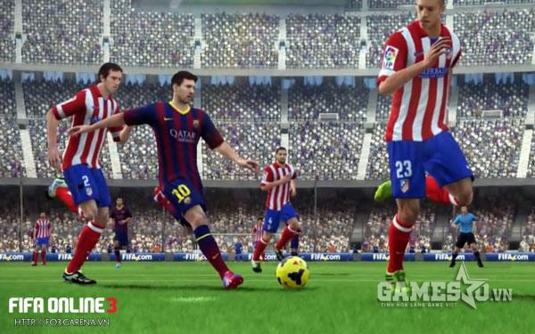 Messi cũng có thừa tốc độ và kỹ thuật để chơi RAM/LAM
