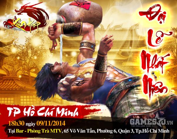 Đại lễ nhất niên -  Đại tiệc chiêu đãi game thủ Sài Gòn