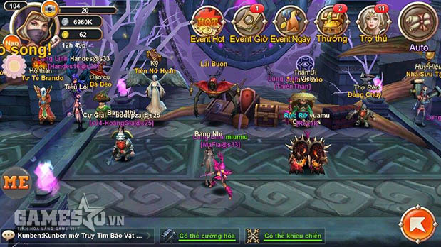 Quân Đoàn Chiến Liên Server là giải đấu có quy mô lớn nhất của game Thiên Thần Truyện
