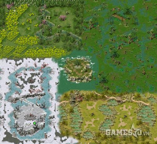 Bản đồ Thí luyện Tứ linh