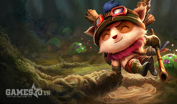 Teemo skin Swift Scout