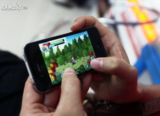 Bước tiến thần tốc của Game Mobile