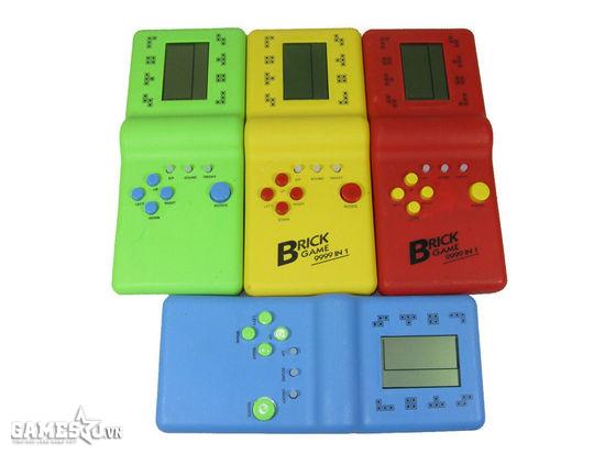 Màu máy Tetris đa dạng