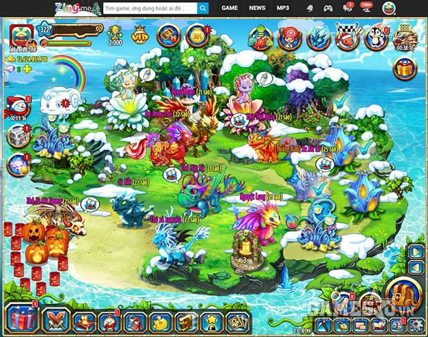 Game Đảo Rồng hot nhất Zing Me