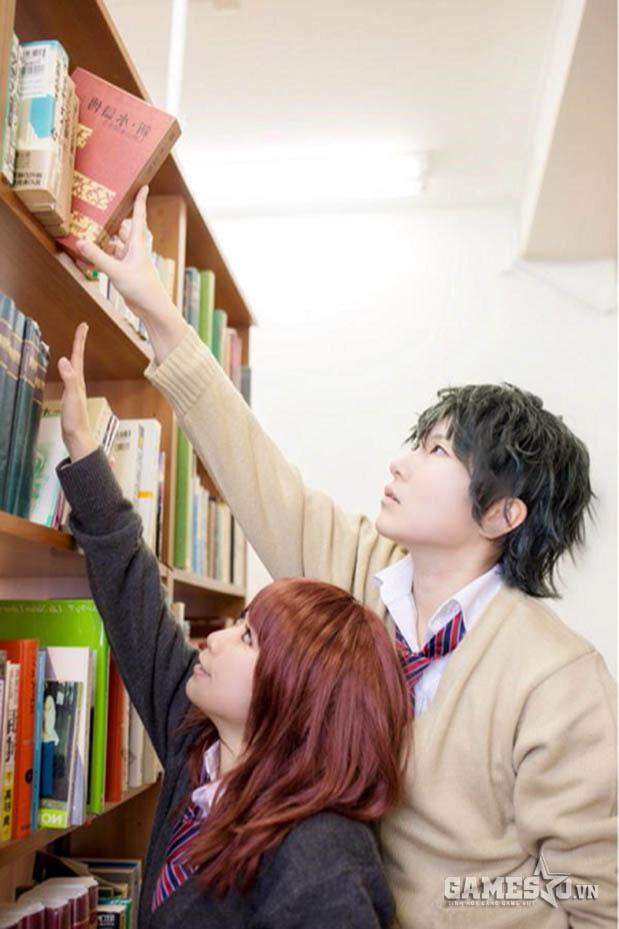 Một tấm hình chuẩn manga Nhật