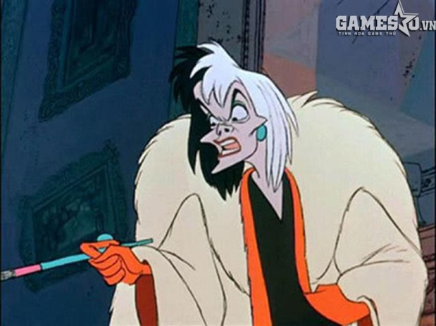 """Cruella De Vil trong phim """"101 chú chó đốm"""""""