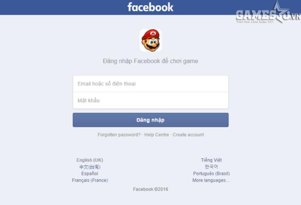 Trang lừa đảo có giao diện tương tự trang đăng nhập Facebook