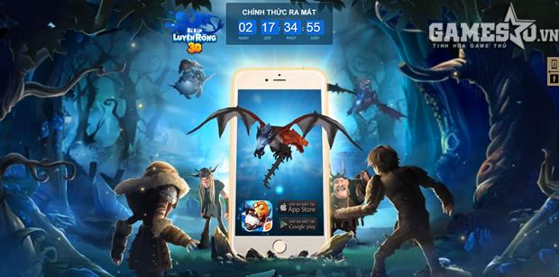 Trang countdown của BKLR3D vừa xuất hiện chiều 29/7.