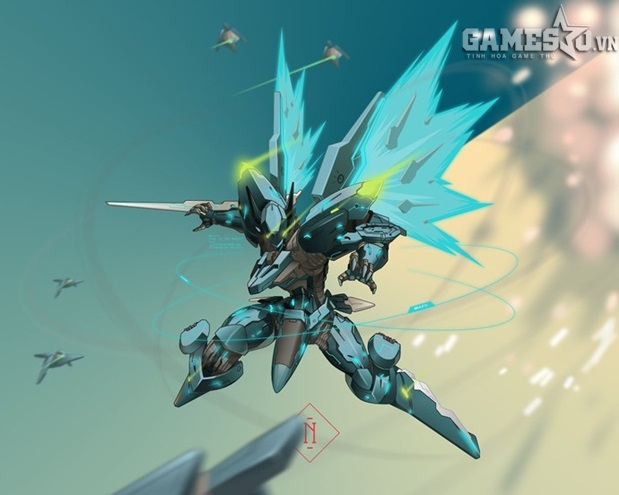 Orbital Frame - Zone of the Enders.