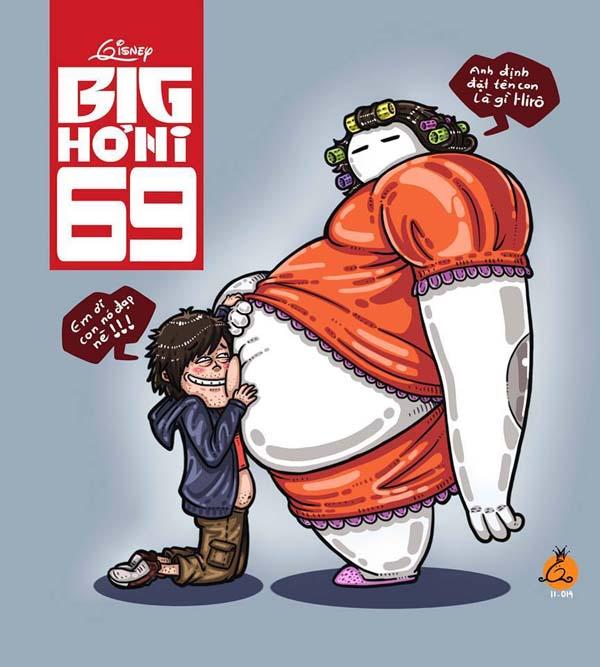Baymax Và Hiro Hamada Của Big Hero 6
