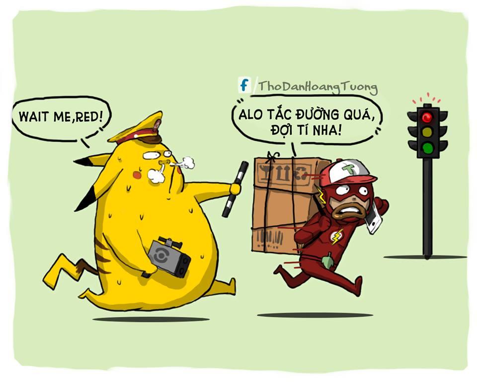 Flash rất hợp với nghề shiper