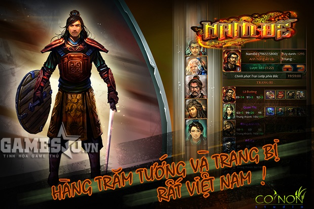Sống lại điển tích thời loạn 12 sứ quân với game dã sử Việt: Nam Đế |  GameSao