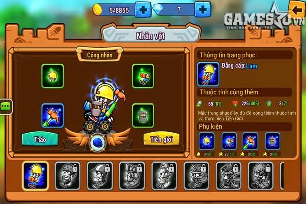 Tiến Giới là một tính năng của game nhập vai được phát triển trong Gungun Online
