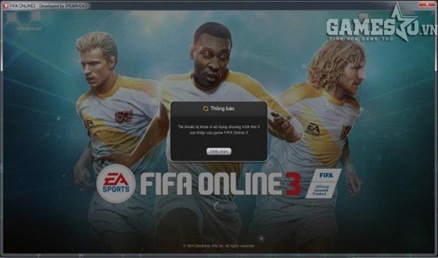 Họ đã bị nick FIFA Online 3 với chỉ một dòng thông báo: Tài khoản đã bị  khóa vì sử dụng phần mềm thứ 3.