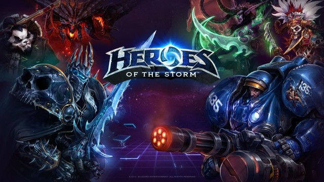 Heroes of the Storm.