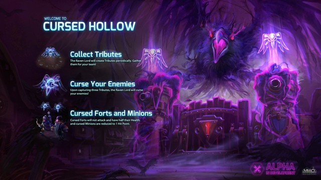 Map Cursed Hollow.