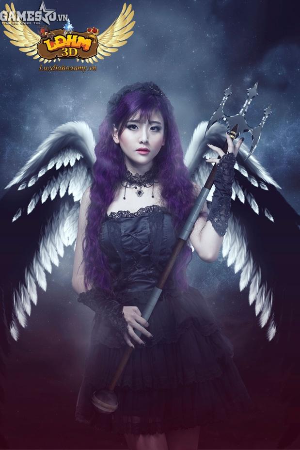 Đôi cánh trắng muốt biến thành màu đen tuyền, Lucifer – thiên thần đại diện  cho Quỷ dữ