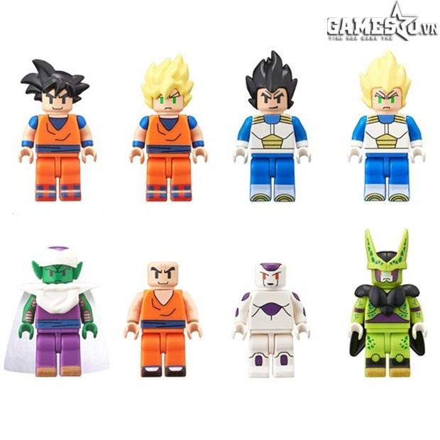 Hãy cùng chiêm ngưỡng bộ ảnh về các mô hình LEGO lấy phong cách Dragon Ball  độc đáo có một không hai này nhé!