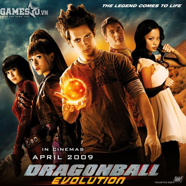 "Poster của ""Epic Fail"" Dragonball: Evolution (2009)"