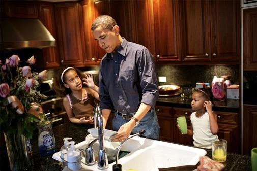 Một người đàn ông đảm trong gia đình