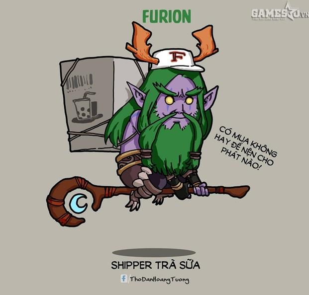 """Liệu Furion ship trà sữa có giàu nhanh hơn đi """"vét"""" không đây?"""