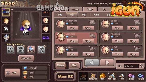 Tương tự như Gunbound, người chơi phải sử dụng đồ hỗ trợ một cách hợp lý và biết tính toán hướng gió