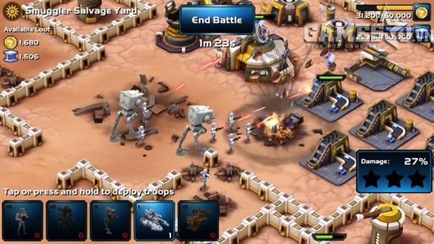 Top 5 game mobile hấp dẫn mang đậm thương hiệu Star Wars | GameSao