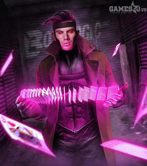 Fan-art Channing Tatum vào vai Gambit