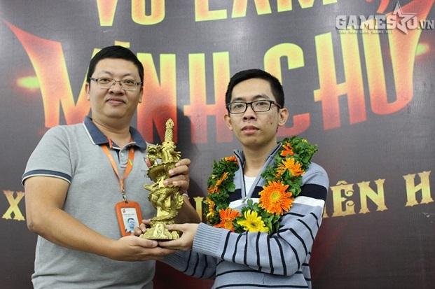 Cao thủ LV-Thiếu Lâm đã trở thành Võ Lâm Minh Chủ đầu tiên của VLTK CTC