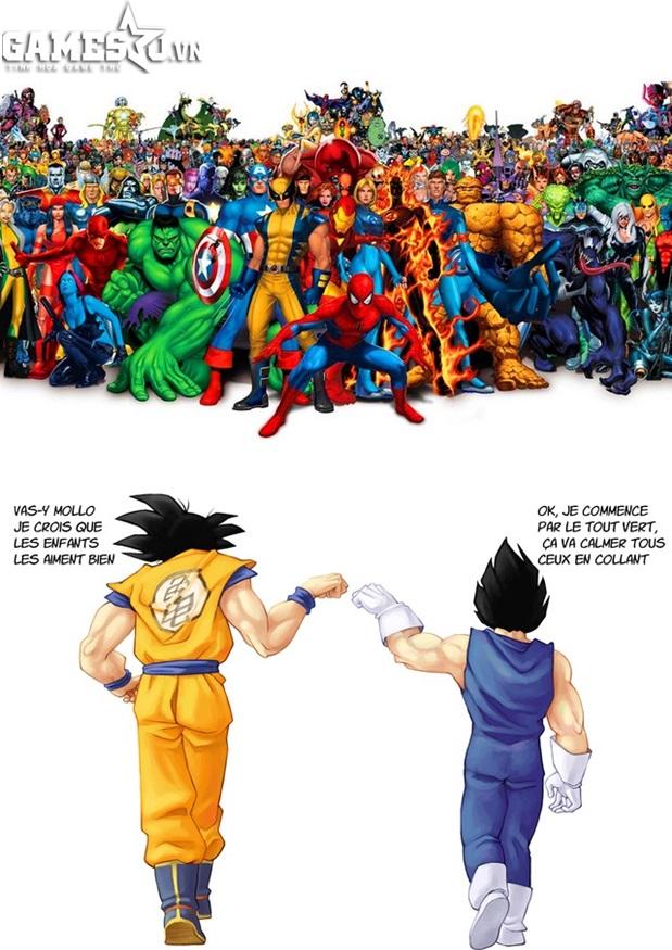 """Đó chính là 2 Siêu Xay Da: Son Go Ku và Ca Dic mang sức mạnh cực """"khủng""""  trong Manga Dragon Ball (7 Viên Ngọc Rồng)."""