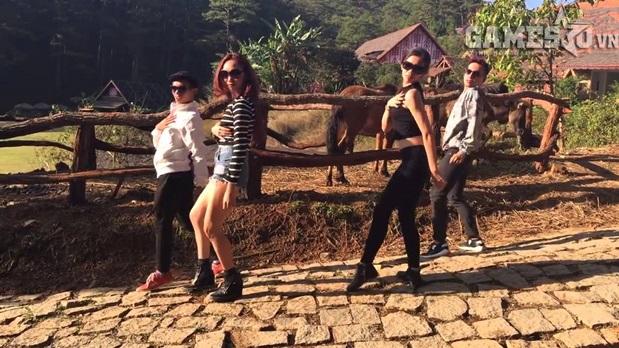 """""""Vũ điệu cồng chiêng"""" là điệu nhảy đang được giới trẻ Việt yêu thích thời gian gần đây."""