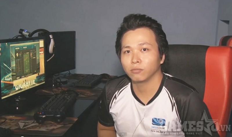 Quang Tuấn trước giờ thi đấu
