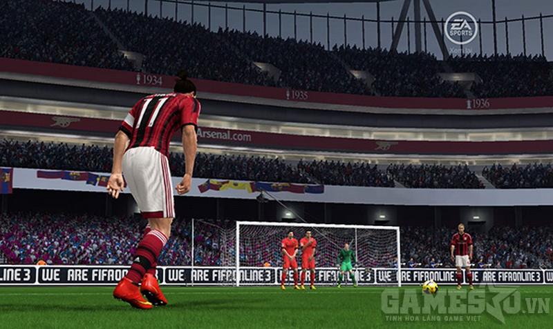 Ibrahimovic còn có kỹ năng sút phạt cực đỉnh
