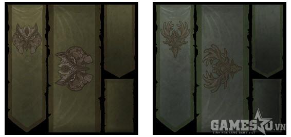 Owl  Banner và  Stag  Banner