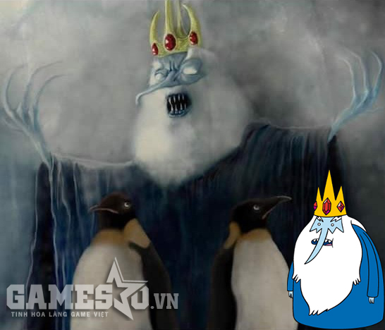 Ice King - Adventure Time.