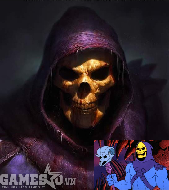 Skeletor - He-Man and the Masters of the Universe.