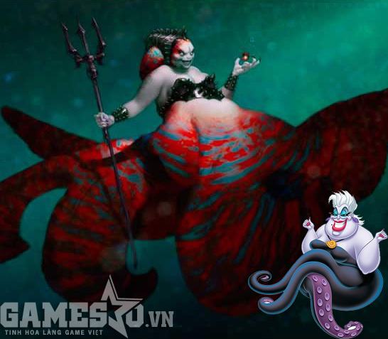 Ursula - The Little Mermaid.