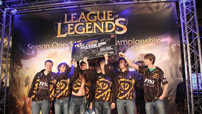 Fnatic là đội tuyển đầu tiên giành chức vô địch Thế giới bộ môn LMHT.
