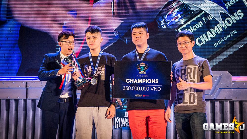 Lonely Seven Men xứng đáng có được danh hiệu vô địch Falcon Dual Masters 2016 cùng số tiền thưởng 350 triệu đồng.