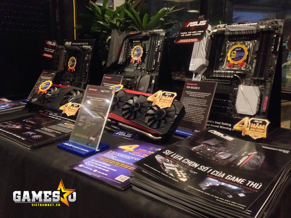 Những sản phẩm đáng chú ý cũng được đối tác của NVIDIA, ASUS đem tới sự kiện lần này.