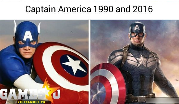 Đội Trưởng Mỹ vẫn cứ là ngầu!