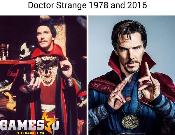Vẻ huyền bí của Doctor Strange vẫn được giữ nguyên.
