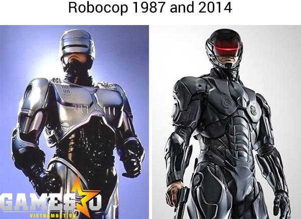 Chàng robot cảnh sát Robocop bao nhiêu năm rồi mà tạo hình vẫn đẹp.