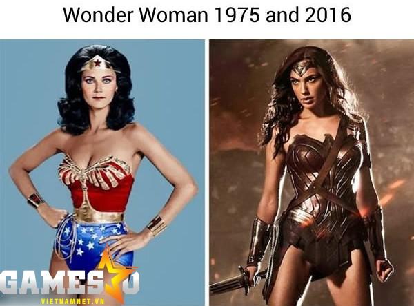 Wonder Woman thì thời nào cũng đẹp.