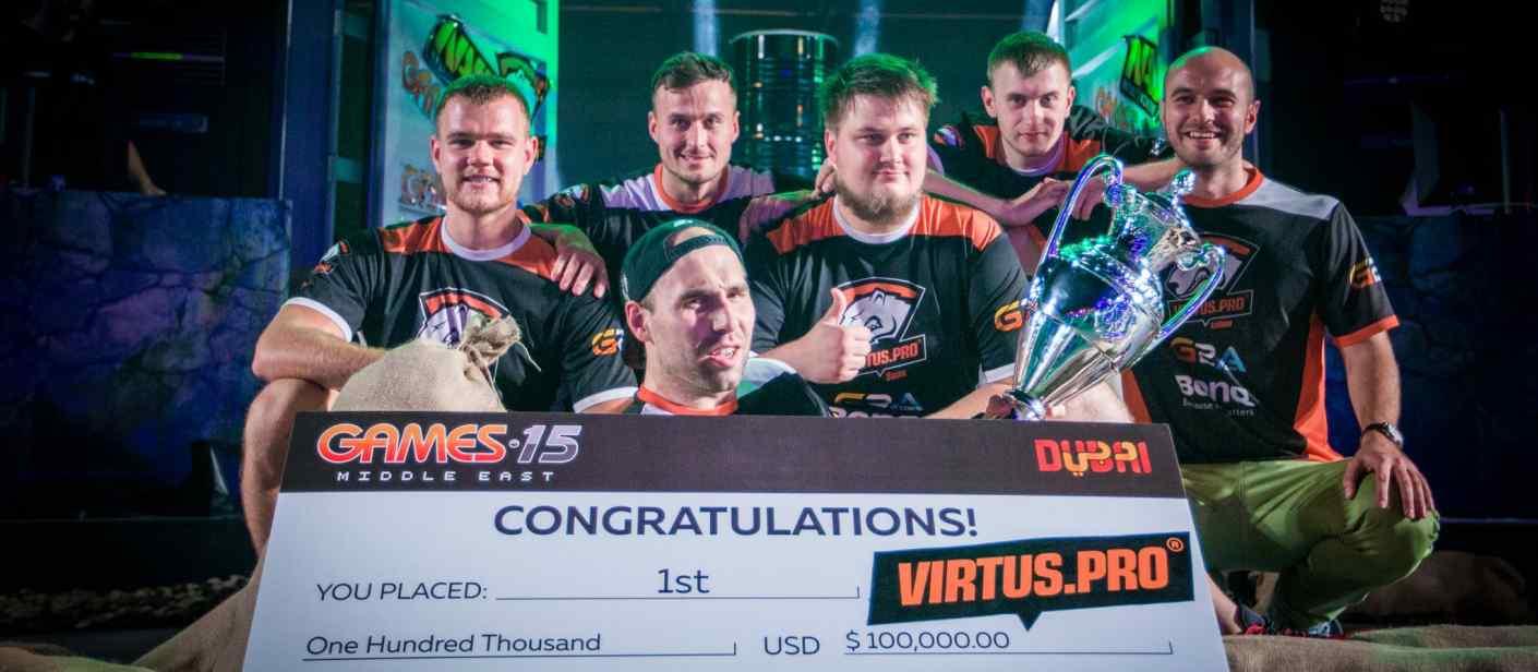 Đội tuyển CS:GO Virtus.pro là một trong những niềm tự hào lớn của nước Nga.
