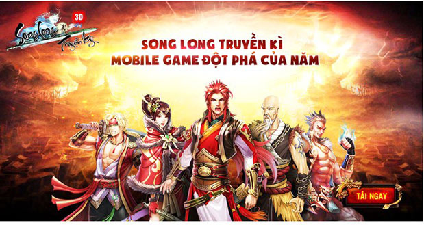 Song Long Truyền Kỳ đang là tựa game chuyển thể được nhiều người quan tâm