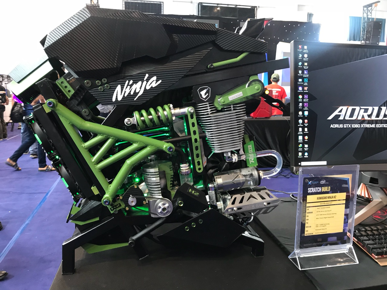 Kawasaki H2 - Giải ba hạng mục Scratch Build