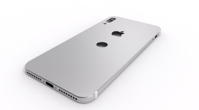 Nếu bản mẫu này đúng với ý định của Apple, iPhone 8 sẽ quay trở lại phong cách của iPhone 5. Ảnh: Instagram/bro.king