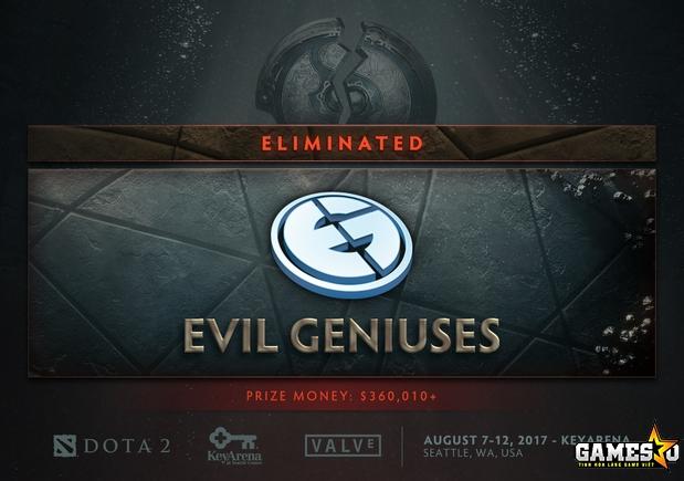 Mặc dù Evil Geniuses vừa mới chính thức nói lời chia tay với giải đấu The  International 7, khi để thua Team Empire 0-2 tại Vòng 2 Nhánh Thua, ...