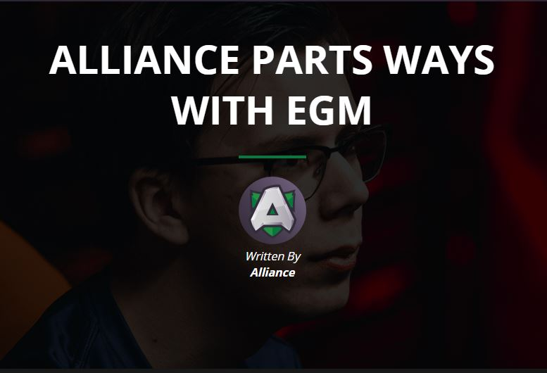 """Thông báo """"dứt tình"""" với EGM được Alliance phát ra"""